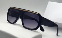 Plate clear online shopping - Selling classic designer sunglasses large square plate frame retro outdoor style top quality uv protection eyewear with original box