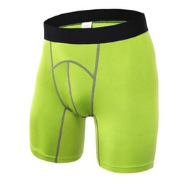 hot compression shorts NZ - Wholesale-Men's Outdoor Sport Shorts Running Fitness Gym Workout Compression Hot Shorts 4 Colors