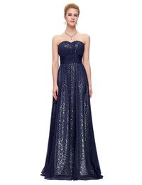 China Sequins Formal Elegant prom dresses 2019 High Quality junior abendkleider lang sweetheart Sleeveless Vestidos Evening Prom Dress supplier junior high prom dresses suppliers