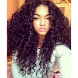 $enCountryForm.capitalKeyWord Canada - Brazilian curly wig human hair glueless u part wigs for black women human hair wig 1b#black in stock