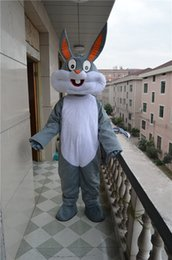 Costume Adulte Pas Cher-Bugs Bunny Costume Mascot Professionnel Bugs Rabbit Hare Adult Fancy Dress Costume Cartoon