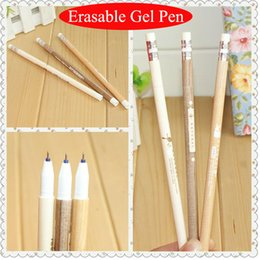 $enCountryForm.capitalKeyWord Canada - 24Pcs  Lot Erasable Pen Fashion Design Pencil Modeling 0.5Mm Magic Gel Pen Stationery Office School Supplies Wholesale 04002