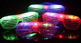$enCountryForm.capitalKeyWord Australia - Slotted & Shutter Shades Light Up Unisex Flashing Glasses For Adults & Children LED glasses sun glow glasses party festival bar rave toy