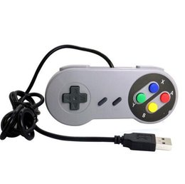 ClassiC snes games online shopping - New Arrive Super Game Controller SNES USB Classic Gamepad for PC MAC Games for Win98 ME XP Vista Windows7 Mac os