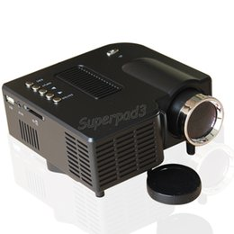 "Projectors For Videos Canada - UC28+ 1080P HD Portable Pico LED Mini HDMI Video Game Projector Digital Pocket Home Projetor Mini Projector For 80"" Cinema DHL Freeshipping"