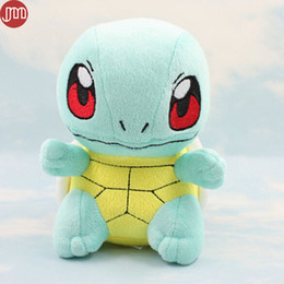 Baby Figures NZ - New Squirtle Rare Turtle Baby Toy Anime Manga Soft Plush Figure Collectible Doll 16cm Kid Christmas Gift