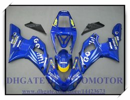 yamaha r1 blue fairings Canada - COLOUR BLUE INJECTION BRAND NEW FAIRING KIT 100% FIT FOR YAMAHA YZF1000 YZF R1 1998-1999 YZFR1 1998 1999 YZF R1 98 99 #DX833