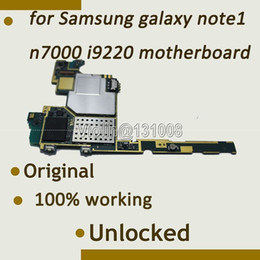 Note Motherboard NZ - Wholesale-16GB 100% working Original Motherboard Mainboard For samsung galaxy note n7000 i9220 motherboard With Full Chips Logic Board