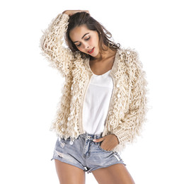 Discount Knitted Sequin Cardigan | 2018 Knitted Sequin Cardigan on ...
