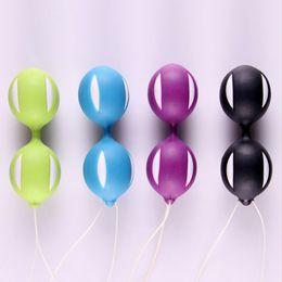 Großhandel Weibliche Kegel Vaginal Enge Trainingsmaschine Ei Dildo Vibratoren Smart Ben Wa Balls Erwachsene Geschlechtsprodukt Spielzeug Für Frau Sex Machine
