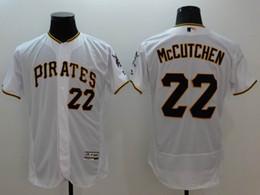 9908d6912 2016 wholesale Mens Pittsburgh Pirates Andrew McCutchen 22 baseball jerseys  Majestic White Flexbase ...