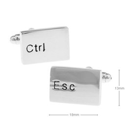 $enCountryForm.capitalKeyWord Canada - Free shipping Factory direct keyboard mouse paint Cufflinks wholesale and retail 960126