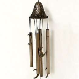 Nice Antique 4 Tubes Feng Shui Windchimes Yard Garden Outdoor Wind Chimes  Aluminum Hanging Wind Bells 3 Styles Free Shipping