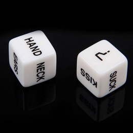 Wholesale old fun games for sale – custom 1 Pair Erotic Dice Game Toy For Bachelor Party Fun Adult Couple Sex Funny toy