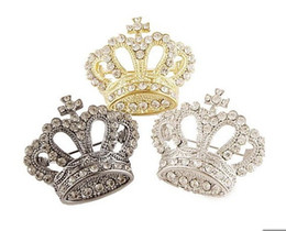 $enCountryForm.capitalKeyWord UK - Upscale crown brooch crystal brooch female retro sweater suit shawl pin buckle hijab pins free shipping
