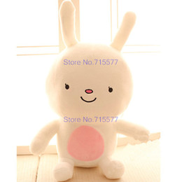 White Rabbit Stuffed Animal Canada - 28-58cm Large size white Rabbit Plush Toys Brown squirrel Wolf Plush Cloth doll stuffed plush animals kids toys Girlfriend gift