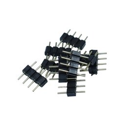 $enCountryForm.capitalKeyWord UK - 20pcs lot 4pin RGB connector, 4 pin needle, male type double 4pin, small part for LED RGB 3528 and 5050 strip free shipping