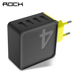 Sugar phone online shopping - ROCK Sugar Ports USB Wall Charger Phone Fast Travel Adapter V1A V2 A V4A EU US Plug For iPhone Samsung