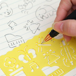 Discount Kid Plastic Drawing Templates | 2017 Kid Plastic Drawing ...