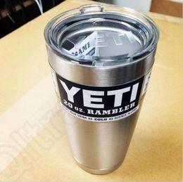 Yeti Coolers Rambler Tumbler Silver