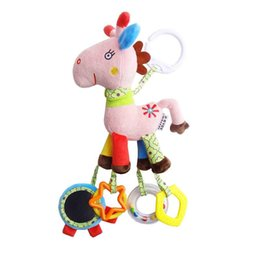 Cot Toys For Babies Australia - Wholesale- Baby Toys Infant Stroller Hanging Cot Crib Mobile Rattles Teether Educational Dolls For Children Newborn Babies Kids
