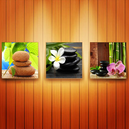 $enCountryForm.capitalKeyWord Canada - Wall decoration Unframed 3 Pieces free shipping Canvas Prints balloon stone Bamboo orchid sandy beach shell Conch Starfish potted flower