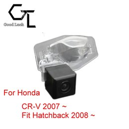 honda rear view backup camera Canada - For Honda CR-V 2007 ~ Fit Hatchback 2008 ~ Wireless Car Auto Reverse Backup CCD HD Rear View Camera Parking Assistance