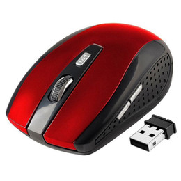 China 2.4GHz USB Optical Wireless Mouse USB Receiver mouse Smart Sleep Energy-Saving Mice for Computer Tablet PC Laptop Desktop Free DHL Shipping suppliers