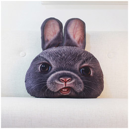 $enCountryForm.capitalKeyWord Canada - 2016 Cute Animals pillowcase Personality Car Cushion Creative Handsome Animals shape Nap pillow Cute seat cushion