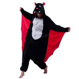 anime vampire achat en gros de-news_sitemap_homeNouveau Vampire Devi Costume Onesies Adultes Bat Noir Homme Femmes s Mal Bat Cosplay Onesies Halloween Party Costumes Animaux de Bande Bat combinaison
