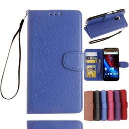$enCountryForm.capitalKeyWord NZ - For LG K4 Motorola MOTO G4 Plus Play G 4 Gen Wallet Leather Pouch Case Stand TPU ID Credit Card Strap Photo Leechee Litchi Skin Cover Luxury