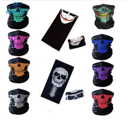 $enCountryForm.capitalKeyWord NZ - 3D Design Multi Function Skull Face Mask Outdoor Sports Ski Bike Motorcycle Scarves Bandana CS Neck Snood halloween Party Cosplay Full Face