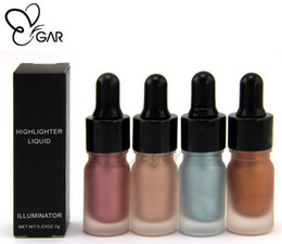 Discount hot chocolate wholesalers - NEW ARRIVAL Brighten the liquid face and eye brighten Hot makeup look Party look Stereoscopic effect free shipping