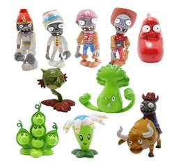 egypt figures NZ - 10 x Plants Vs Zombies 2 Wonderful Time Tour of Egypt Mini Figures Bloomerang Bonk Choy and Peapod 10Pcs Set