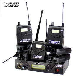 $enCountryForm.capitalKeyWord Canada - Pro Monitoring UHF Wireless In Ear Headphone Stage Monitor System One USB Transmitter With 7 Receiver Recording Studio DJ Mixer Console
