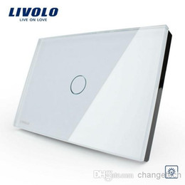 LivoLo switch dimmer online shopping - Livolo White Glass Panel Dimmer Switch US AU standard Light Home Gang Way VL C301D