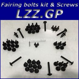 Honda Cbr929 Australia - Fairing bolts kit screws for HONDA CBR900 929 2000 2001 CBR900RR 00 01 CBR929 929RR Fairing screw bolts Black silver
