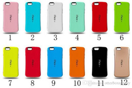 iface iphone 5s NZ - S7 S7 edge cases 2 in 1 iface case for iphone 6 iphon6 plus 4s 5 5s Back Cover Full Protective phone case