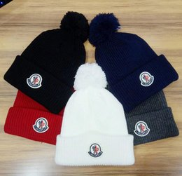 Canada goosess Beanies men women autumn winter beanies knitted letter  embroidery casual skull caps outdoor couple gorro 0491463b87d9
