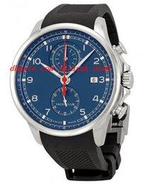 Top Qualität Luxus Armbanduhr Portugiesischen Yacht Club Chronograph Quarz Edelstahl Herrenuhr 45,4 MM Herrenuhr Uhren