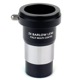 Telescope eyepieces online shopping - Datyson quot x Barlow Lens Fully Multi Coated Metal with M42x0 Thread Camera Connect Interface for Telescope Eyepieces