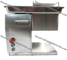 Meat processing Machines online shopping - 250KG H Stainless Steel mm mm Customized Blade v v Electric Industrial Fresh Meat Cutter Slicer Processing Machine