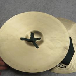 Vente en gros Cuivre à la main Cymbales Gong Band Rhythm Percussion Instrument de musique Jouet Bande de cuivre dans les cymbales cym