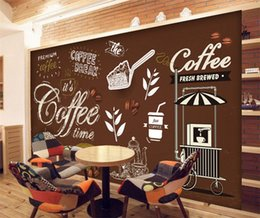 $enCountryForm.capitalKeyWord NZ - Custom Any Size European Style Retro Hand-painted Poster Mural Wallpaper Coffee Shop Restaurant Background Wall Painting Paper