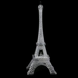 Mini Romantic Eiffel Tower Desk Bedroom Night Light Decoration Table LED  Lamp