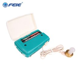 $enCountryForm.capitalKeyWord UK - FEIE hot selling headset ear machine listen device Wire Hearing Aids Cheap Pocket Hearing Amplifier S-6B Dropshippin
