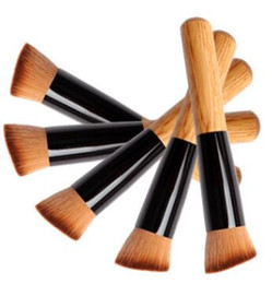 makeup brushes set function NZ - Multi-Function Pro Makeup Brushes Powder Concealer Blush Liquid Foundation Make up Brush Set Wooden Kabuki Brush Cosmetics