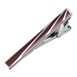 $enCountryForm.capitalKeyWord Canada - Mans White Steel Tie Pin Clips Clasp Bar For Men Plain Metal Clips For Festival Gift Wedding Groom Usher New L-101