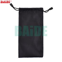 Bolsas de herramientas de colores negro Bolsas para gafas de sol Mp3 bolsa de polvo de tela suave Optical Glasses Bag 500pcs / lot