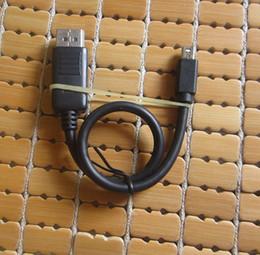 Опт Thunderbolt 0.3 m / 1 Ft Mini DisplayPort DP для отображения порта DP конвертер кабель между мужчинами для MacBook Air Dell Monitor